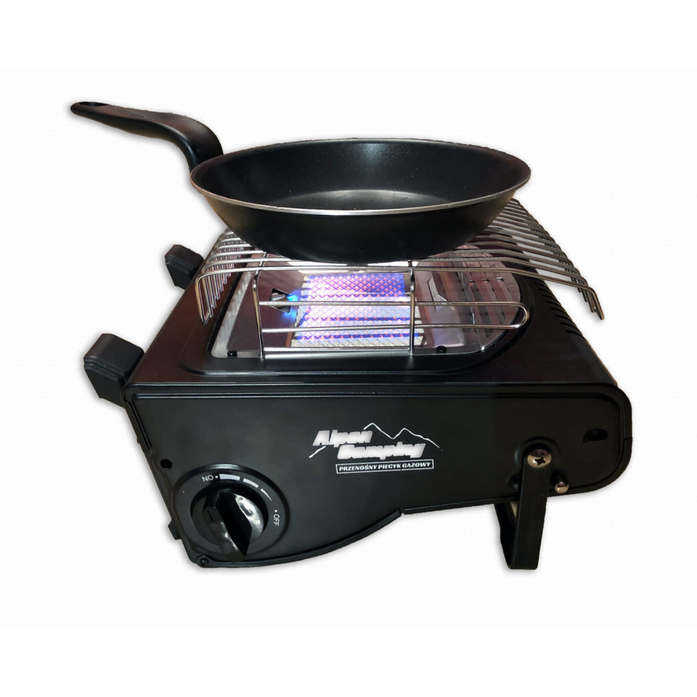 Independent gas heater 1700 watts, with the possibility of use as a stove