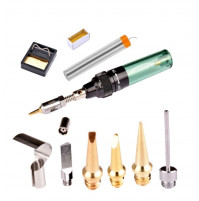 Soldering kit - gas soldering station with accessories