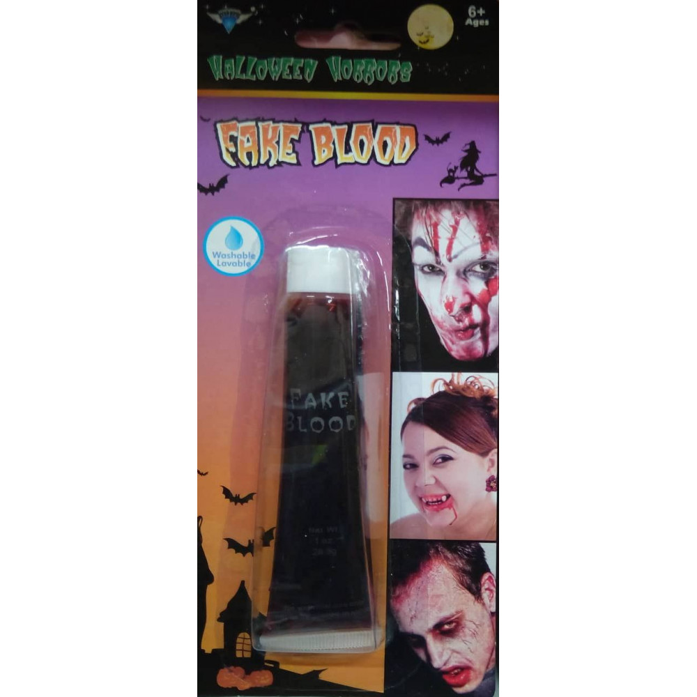 Artificial Blood - Gel - Accessory for Halloween or Carnival