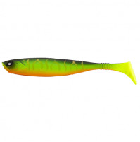 Lure for catching predatory fish - bright silicone twisters or vibrotails