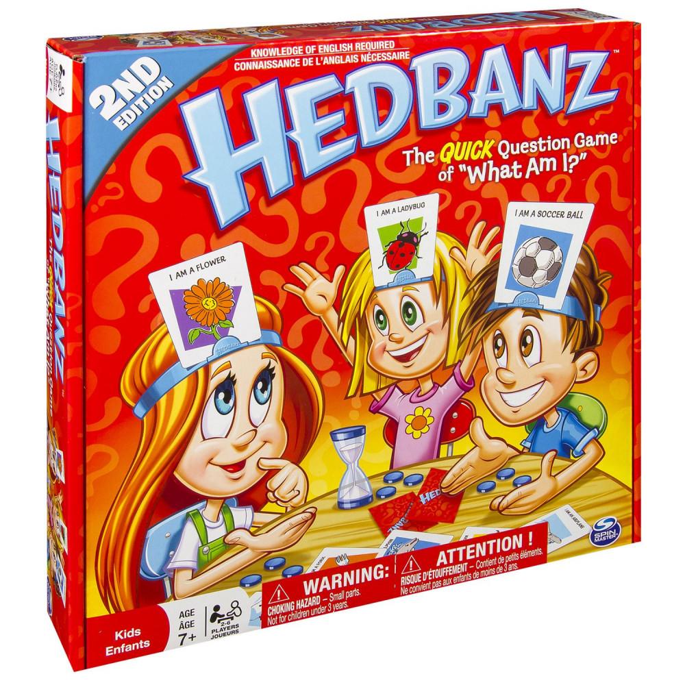 Galda spēle Hedbanz (uzmini, kurš tas ir)