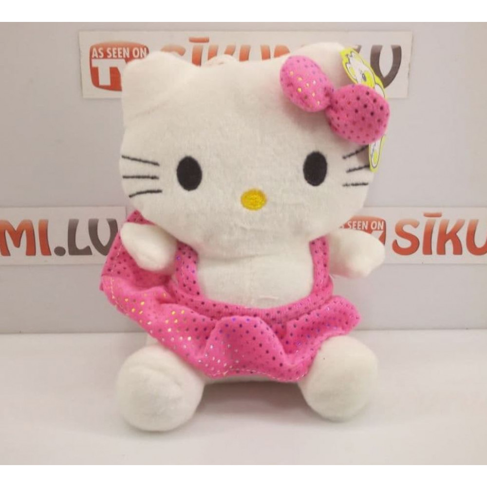 Soft plush toy cute kitty Hello Kitty in dress, gift for girl