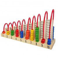 Interactive pyramid for teaching children counting