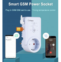 Smart socket iTimer GSM with SMS control