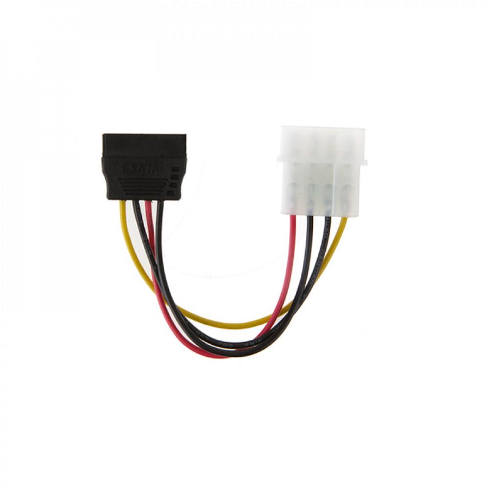 Barošanas adapteris  SATA 4 Pin uz IDE Male 15 Pin cietā diska SATA HDD Serial ATA pieslēgšanai vecajiem datoriem
