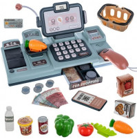 Interactive Shop Play Kit - Cash Register with Scanner