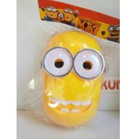Карнавальная маска для детей миньона Кевина из мультфильма Гадкий Я