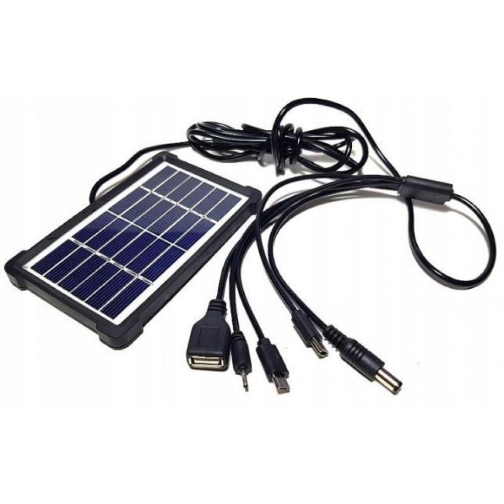 KL-988 3.5W/6V Polycrystalline Solar Panel WITH Plastic Frame Sony DC5.0 V8 V3 USB