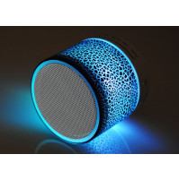 Portable Bluetooth speaker with microphone