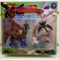 How To Train Your Dragon Game Collectible Cartoon Figures