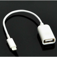 Lightning male to USB female iPhone Adapter