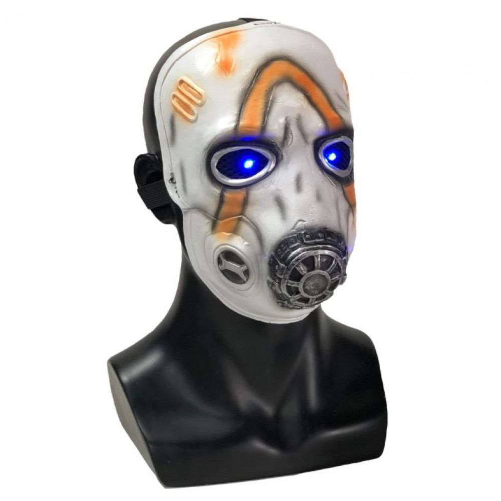 LED Mask for Cosplay Krieg The Psycho