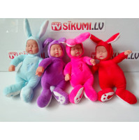 Soft baby toy doll sleeping baby-bunny with ears