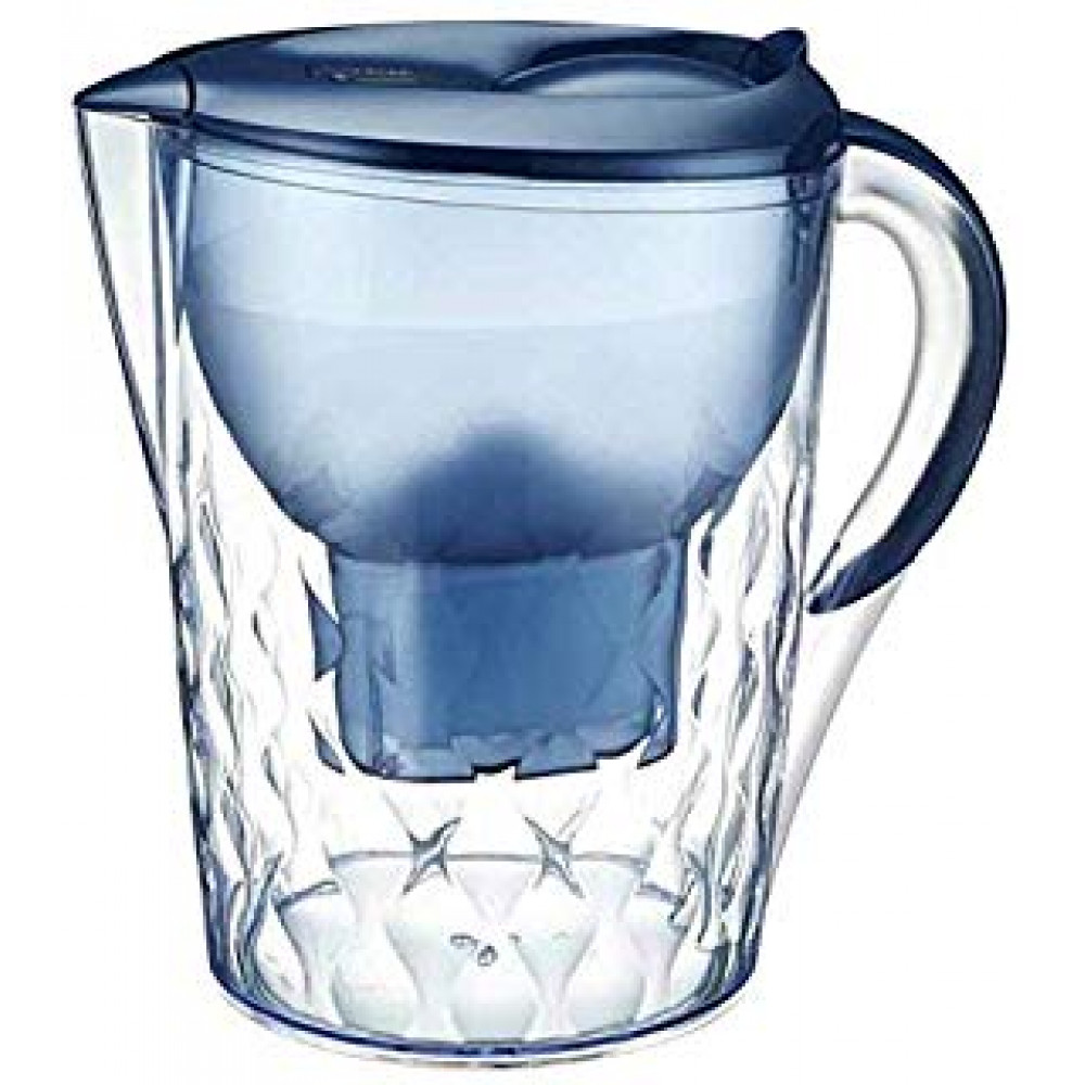 Filter - a jug for water purification with a display showing the amount of harmful substances