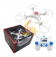 Drone quadrocopter 22 cm with 6-axis control system