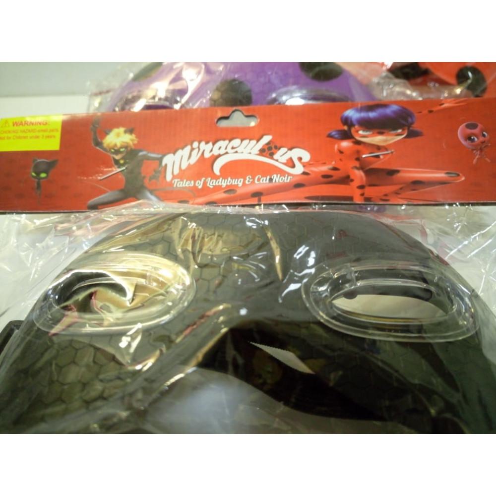 Superhero Kids Mask, Lady Bug, Miraculous Cartoon Super Cat