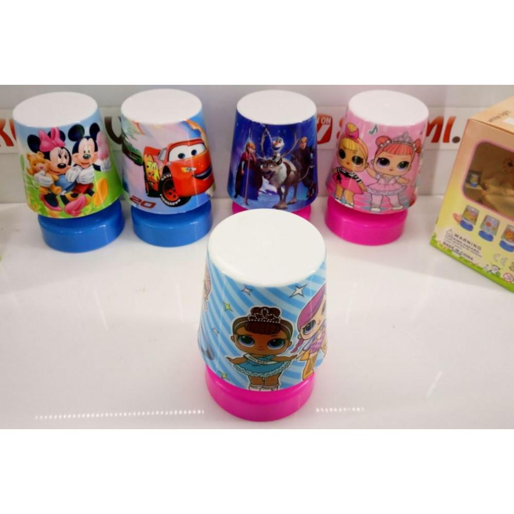 Children Lamp, Cartoon Table Night Light Cars, Mickey Mouse, Frozen, LOL