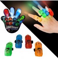 Glowing Lasers Laser Finger Beams