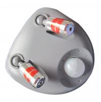 Dual laser parking sensor, guiding parking system, the reverse sensor for garage