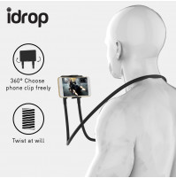Flexible neckband for smartphone or tablet - Advanced Lazy Phone Stand