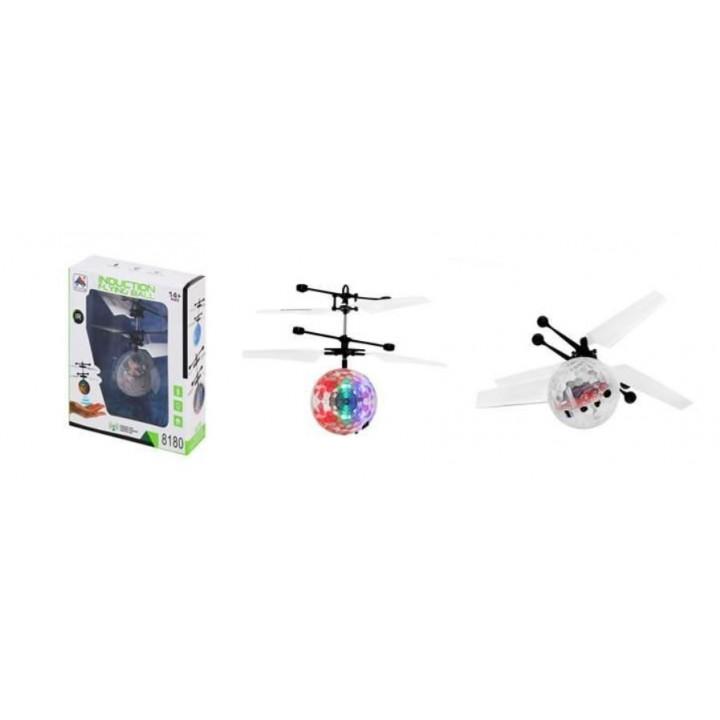 Flying controlled LED disco ball Flying ball drone with battery