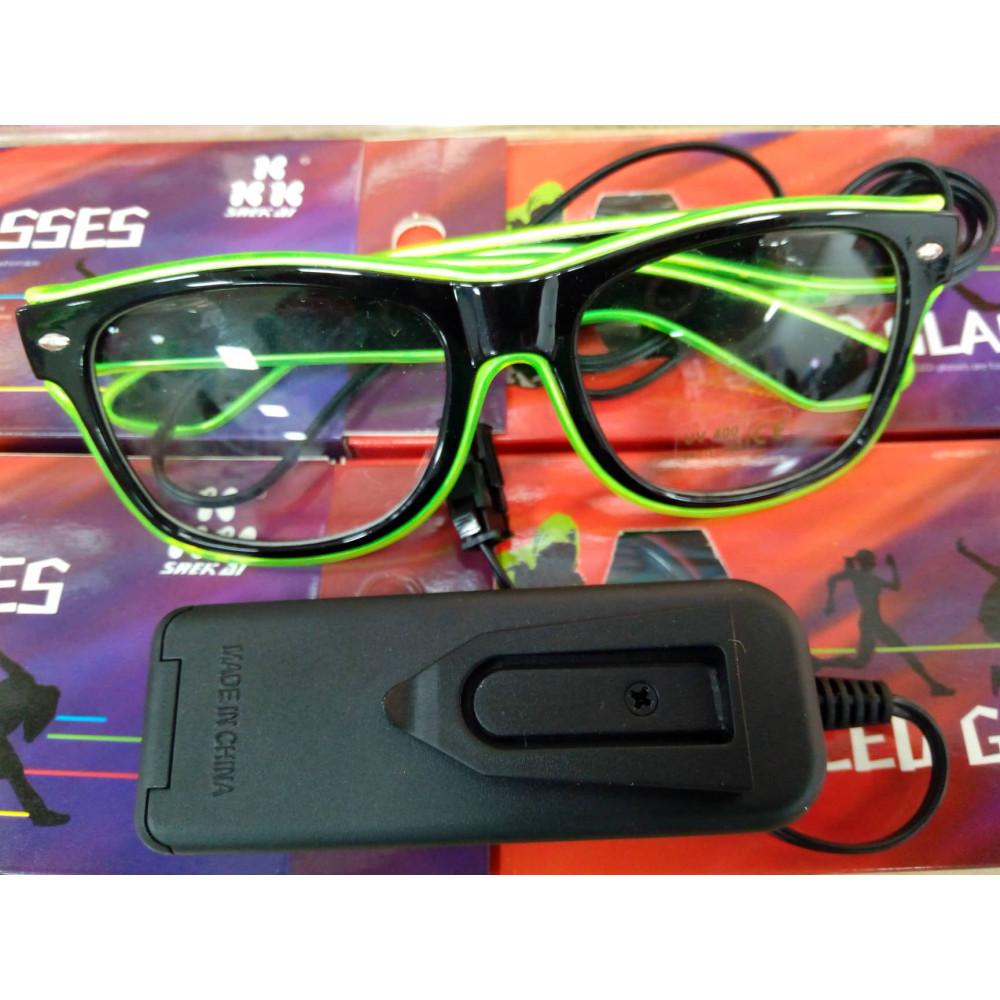 Fashion Wayfarer LED Party Glasses