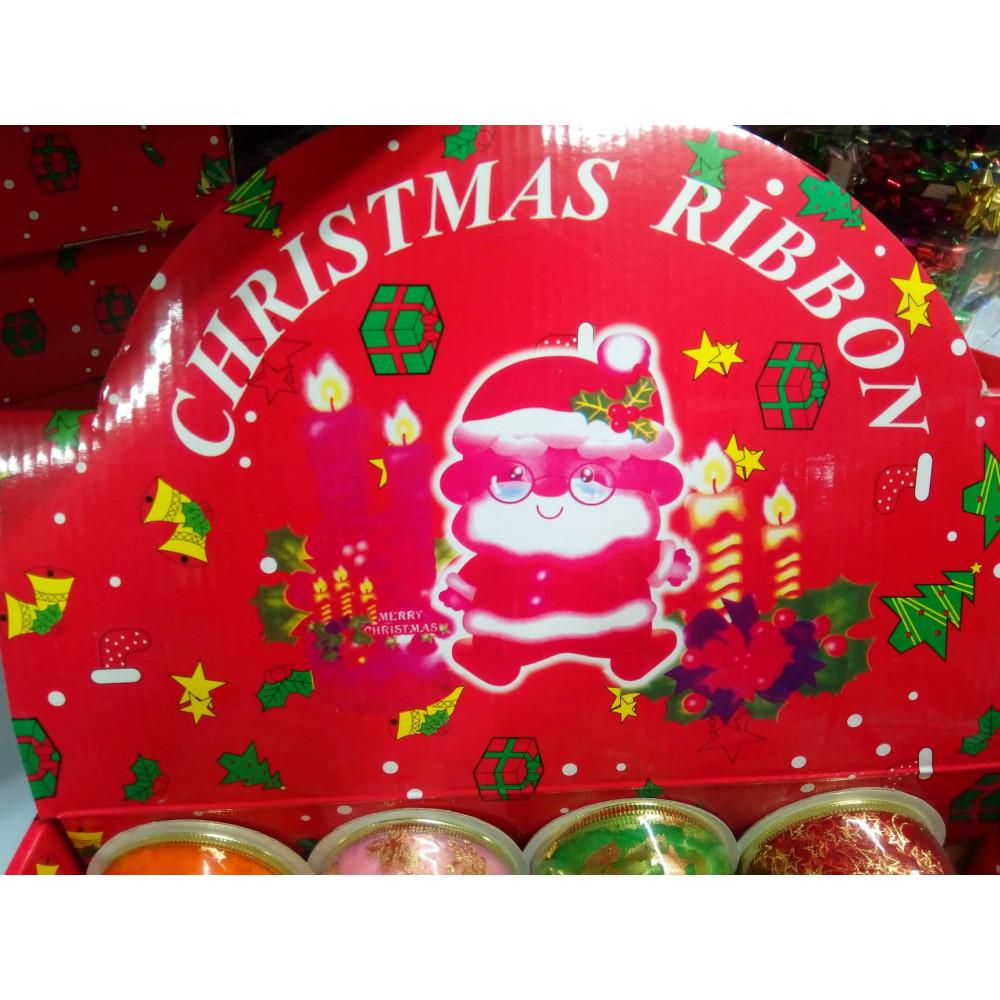 Dāvanu iesaiņošanas lentes jaunajam gadam un ziemassvētkiem