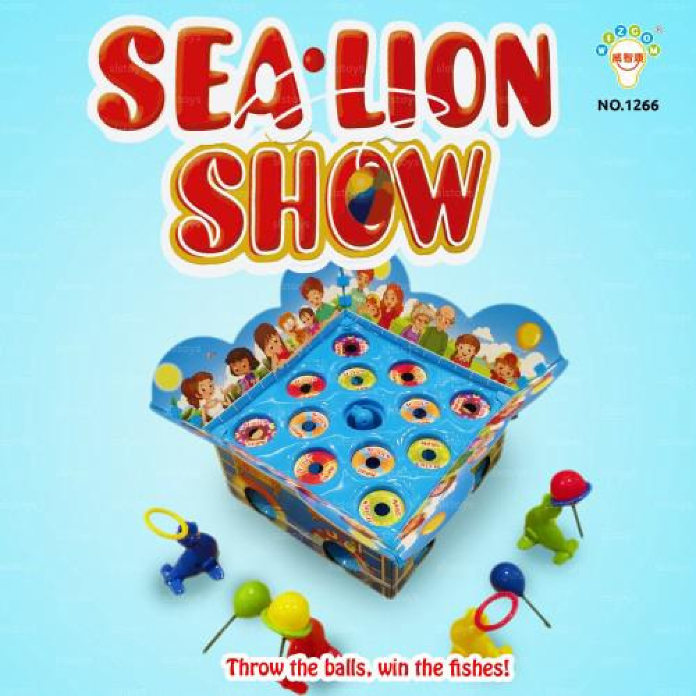 Board Family Game - Sea Lion Show