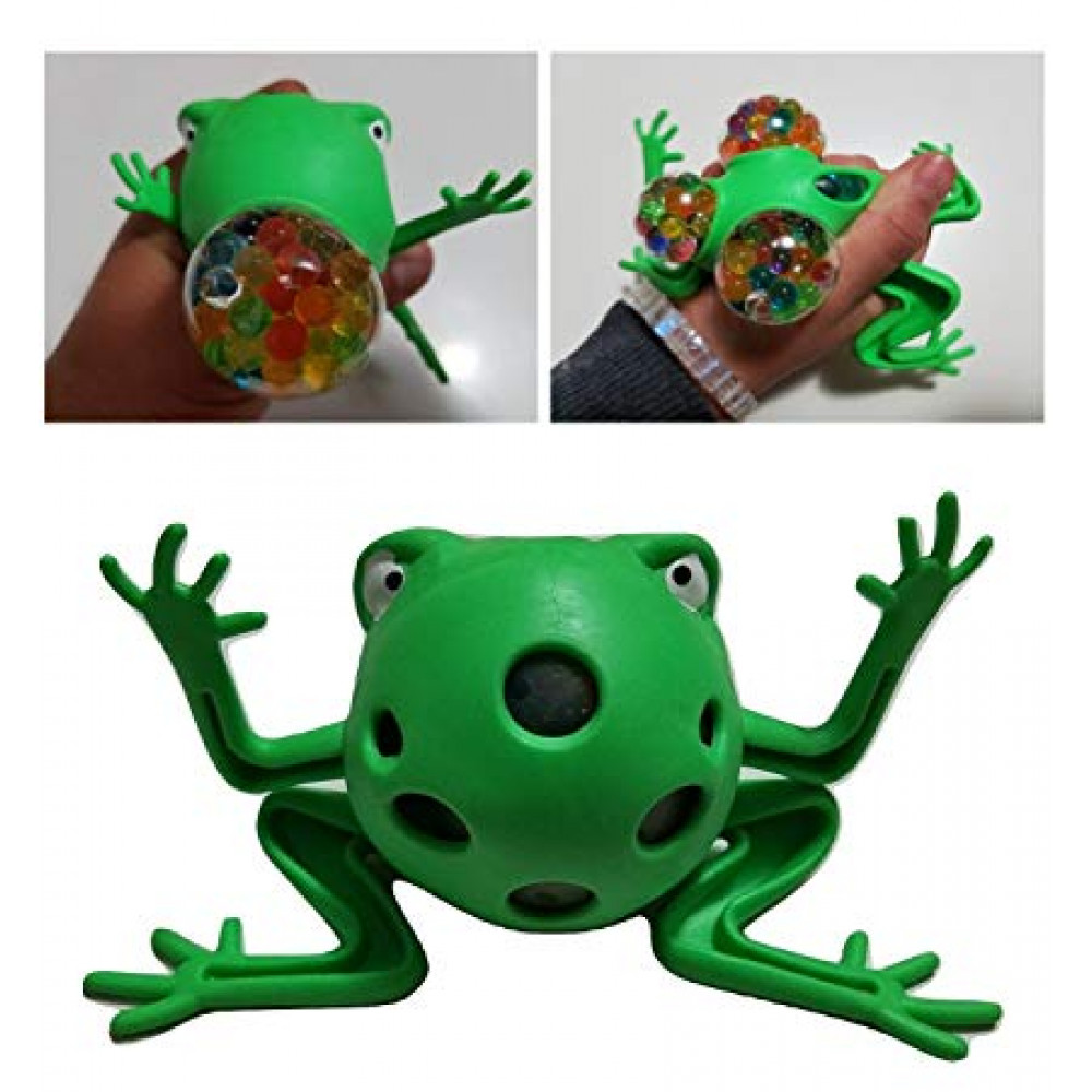 Antistress Mesh Squishy Frog Toy