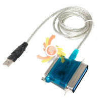 Adapter USB male to LPT male female