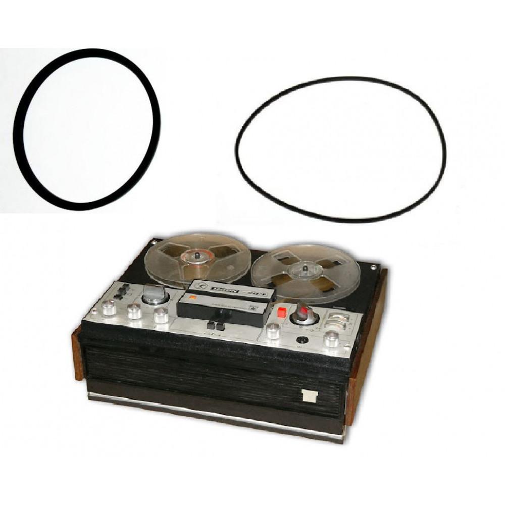 Belt for reel tape recorders Aidas, Aidas 9M, Astra 4, 205, 206, 207, Nota 202, 203, 203-1, Dolphin 302, Daina, Yauza 5 - 6 - 209