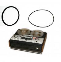 Rubber belt for bobbin tape recorders Majak 202, 203, 205, Romatnika 115, 201, Snezhetj 203, Orbita 204, 205, Saturn 201