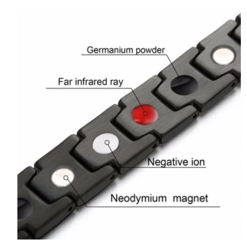 Magnetic bracelet of universal size for weight loss, weight loss, normalization of blood pressure, increasing immunity