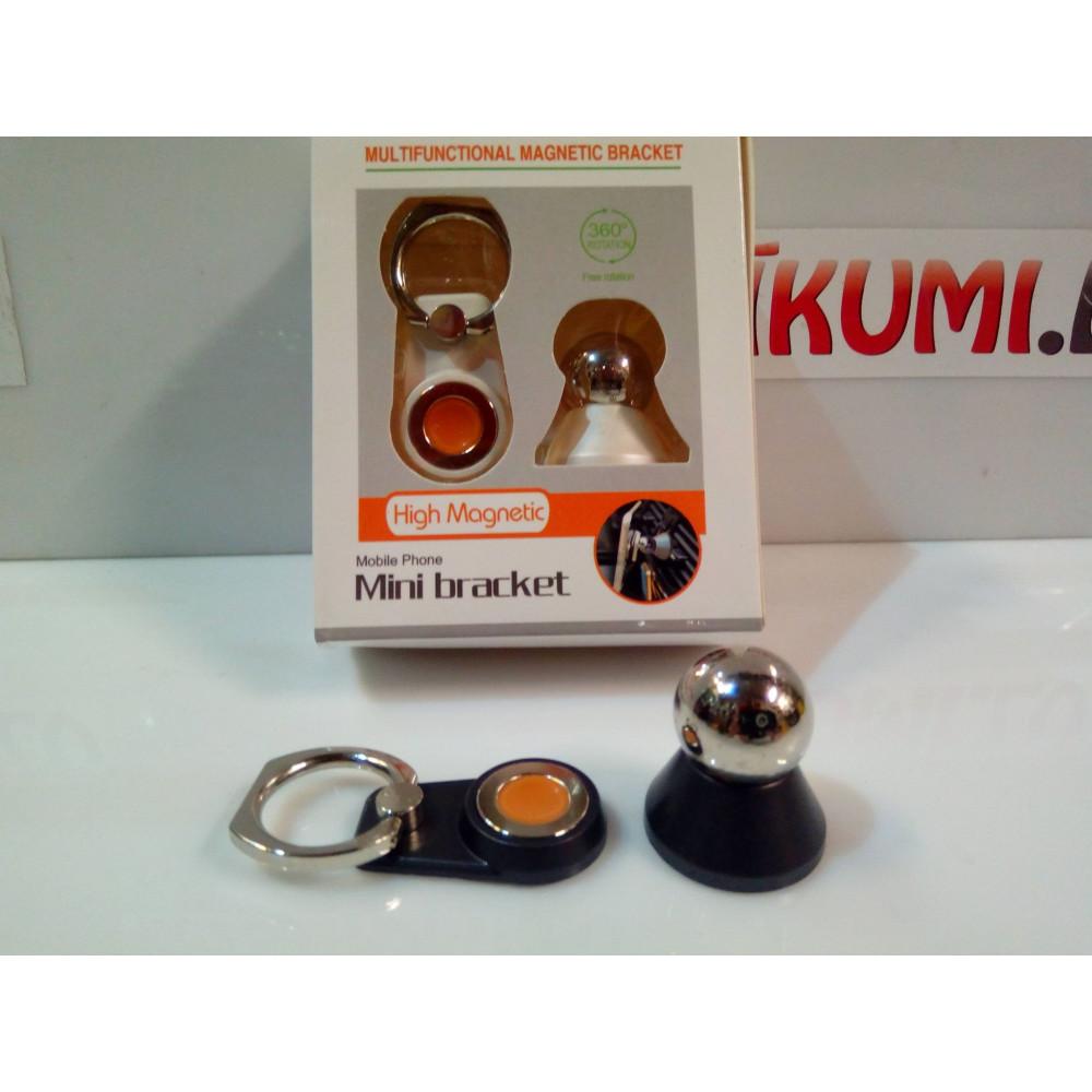 Universal 360 degree magnetic phone holder for cars