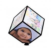 Rotating photo frame Magic cube for 6 photos