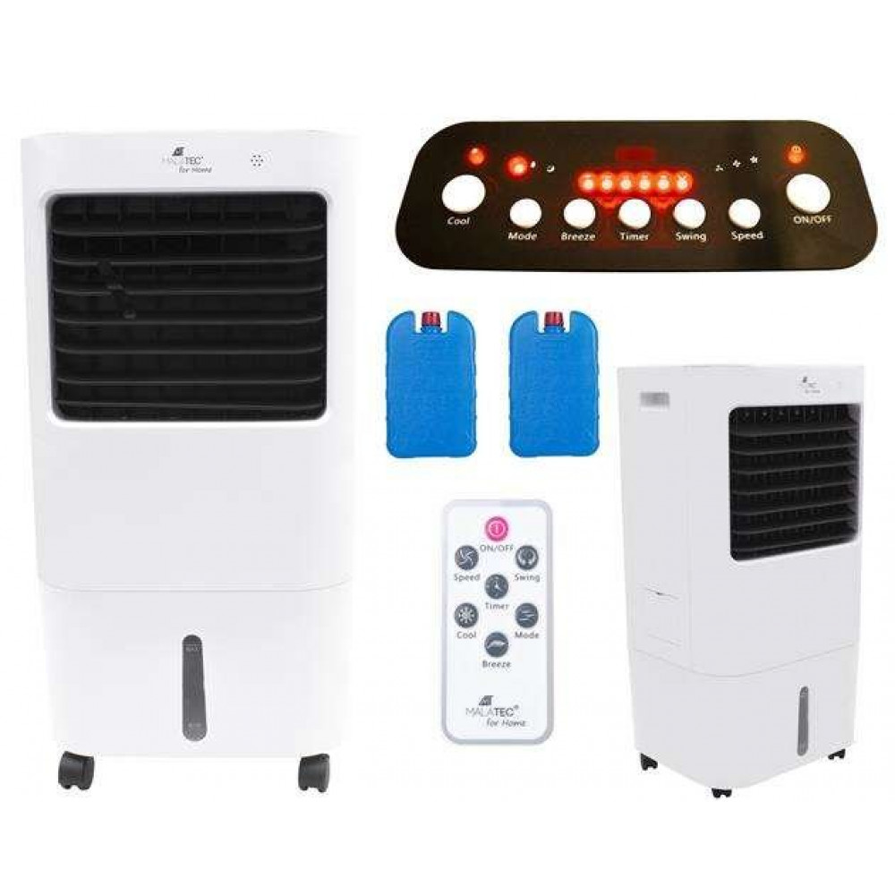 Mobile floor air conditioner Malatec with timer, remote control and modes, cools up to 35 m2
