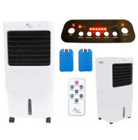 Mobile air conditioner with remote control, cools up to 35 m2