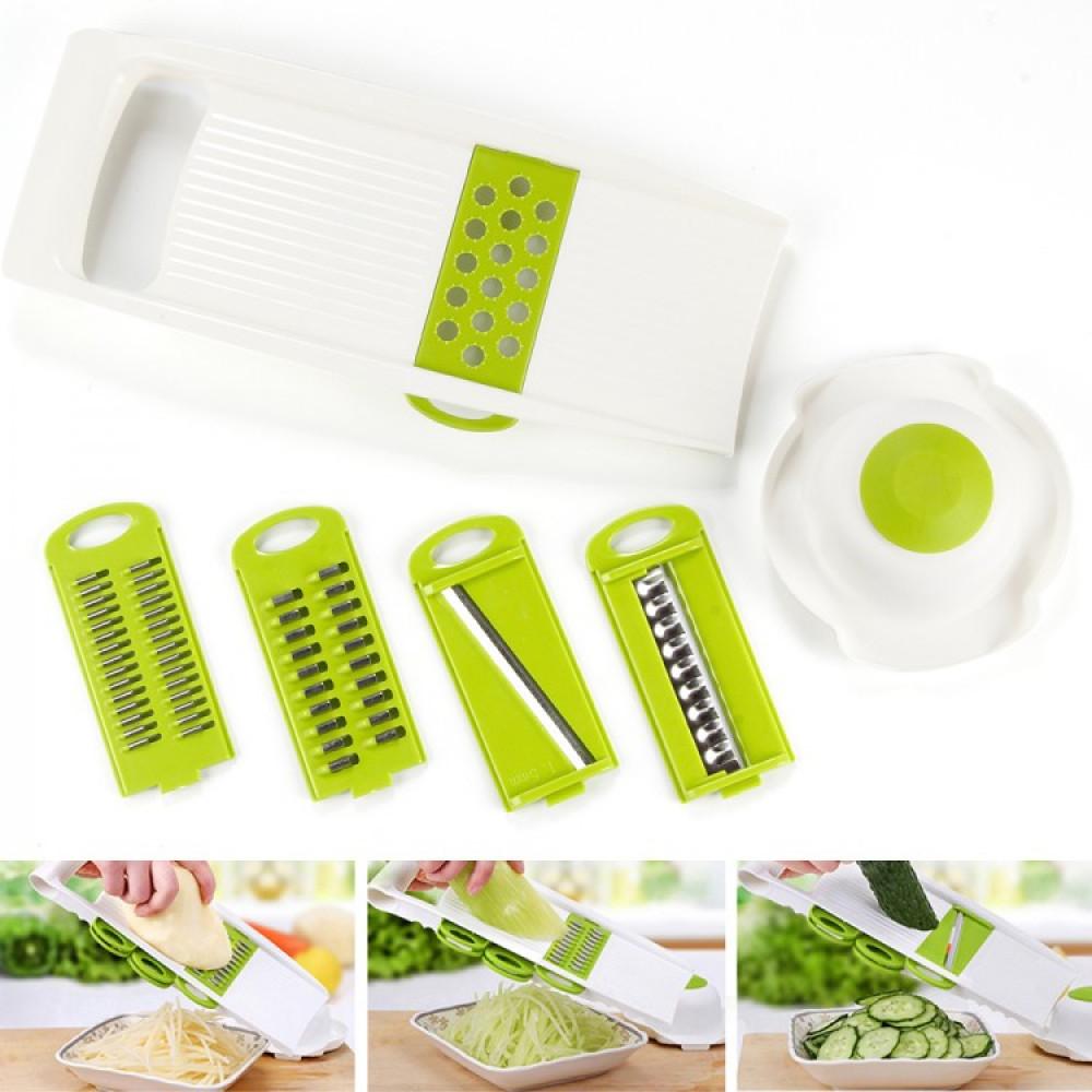 Nicer Dicer grater for vegetables, fruits, fish cleaning