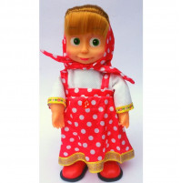 Masha doll, Bambola di Masha e l'Orso that dances and sings, 25 cm