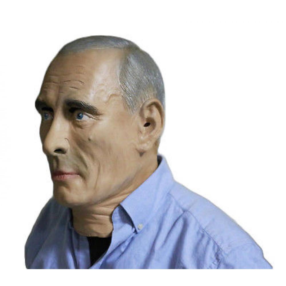Lateksa maska Vladimirs Putins