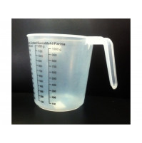Large measuring cup 1.5 L for measuring bulk products and liquids