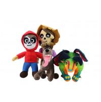 Mīkstā plīša rotaļlieta Migēls, Hektors Rivera, Pepita, Dante no multfilmas Koko Noslēpums