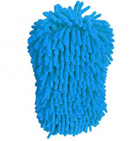 Sponge - microfiber glove for cleaning the car and other surfaces