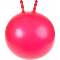 Piepūšamā vingrošanas bumba ar rokturiem ragiem jogai, fitnesam, lēkāšanai, rehabilitācijai