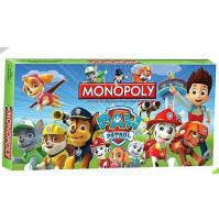 Galda spēle Monopolija Suņu Patruļa vai Lidmašīnas