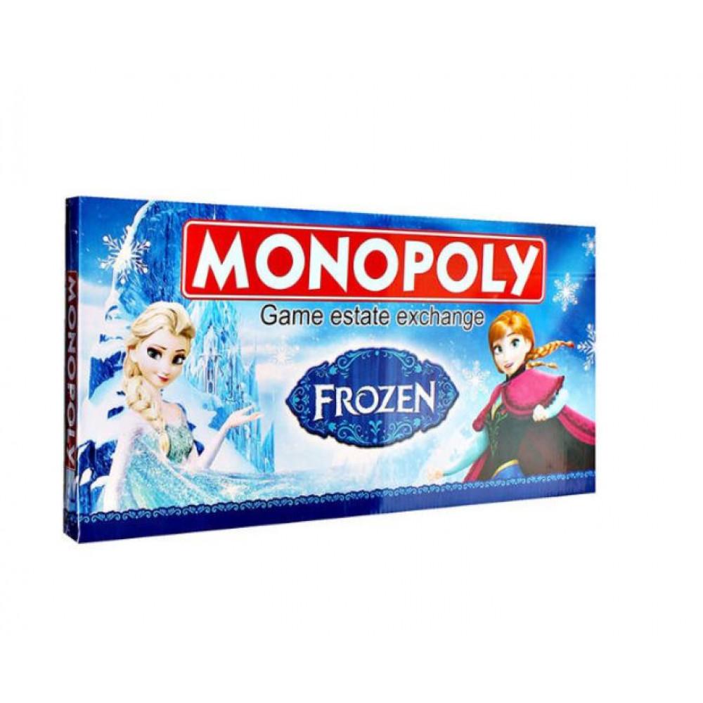 Board Game Monopoly — Frozen cartoon