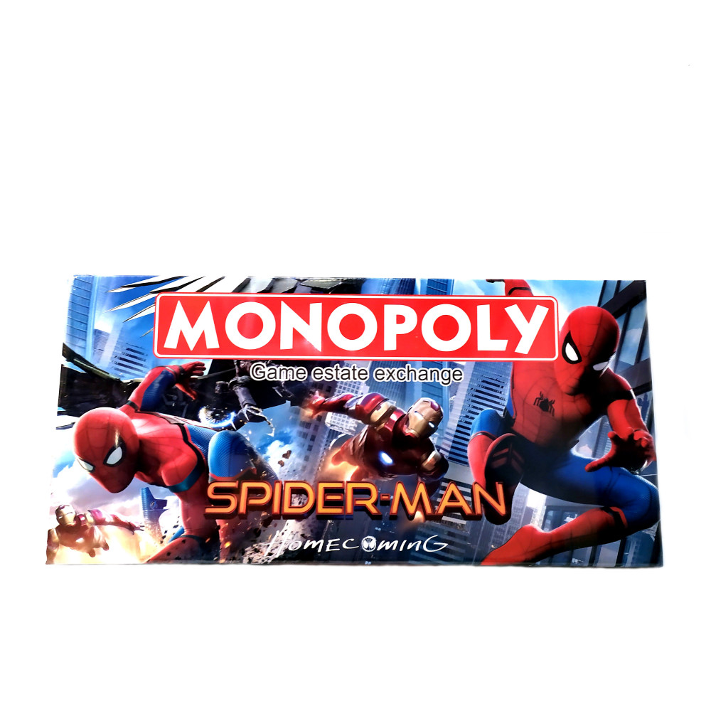 Board Game Monopoly — Spiderman Home Coming film