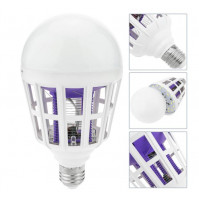 Bulb with E27 base, 15 W, mosquito repellent for exterminating insects, mosquitoes, wasps, bees, flies Mosquito Killer Lamp