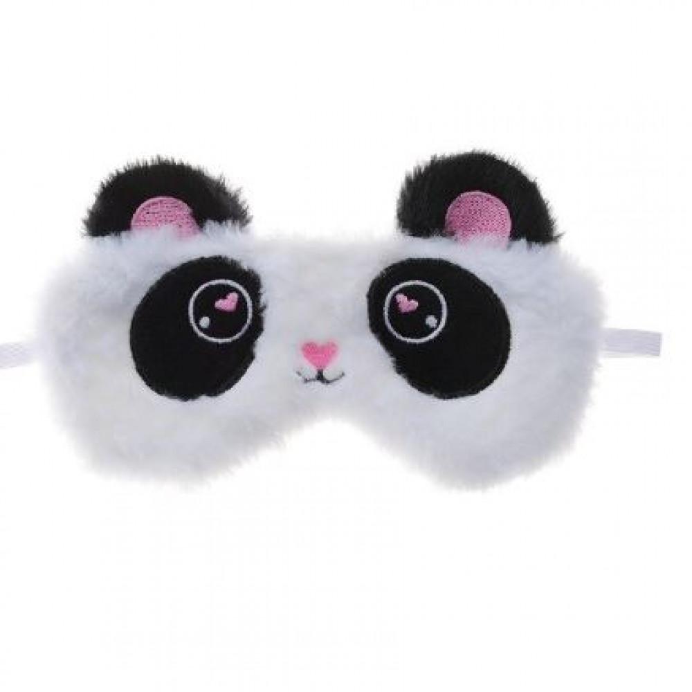 Sleep mask, cute panda or pink rabbit
