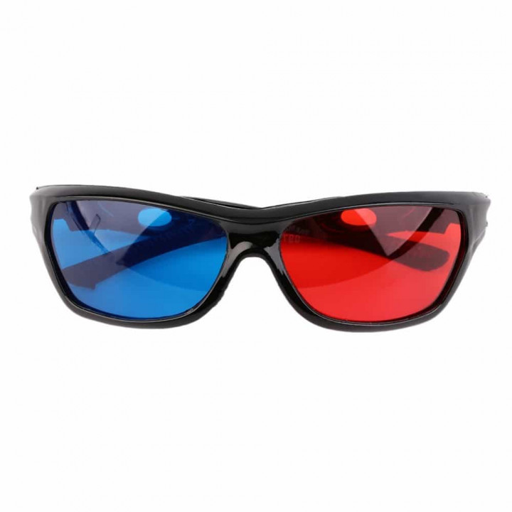 3D Anaglyphs glasses for watching 3D video and images